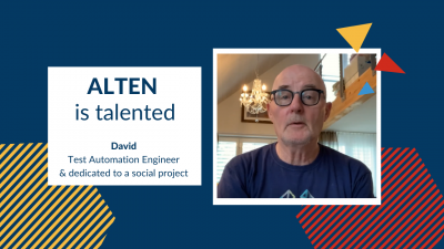 ALTEN is talented: David, Test Automation Engineer