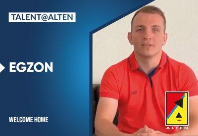 ALTEN is talented: Egzon, Senior Engineering Consultant