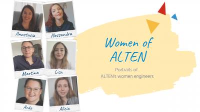 Women of ALTEN – portraits of ALTEN's women engineers
