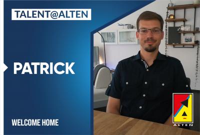 ALTEN is talented: Patrick, Mechanical Engineer